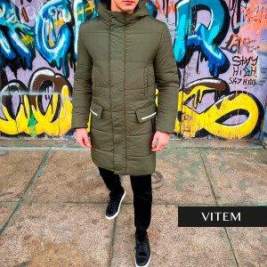 Водовідштовхувальна чоловіча куртка хакі