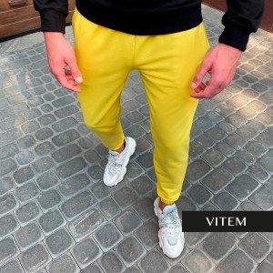 Чоловічі жовті джоггери